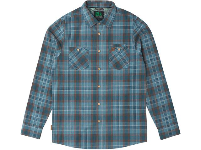Hippy Tree Fairing Camisa Franela Hombre, blue
